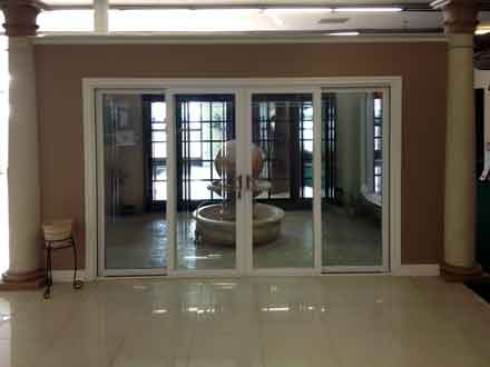 10 foot sliding glass milgard door