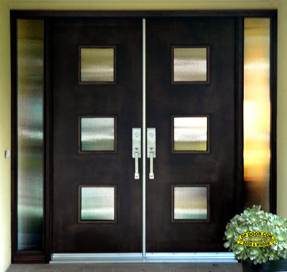 mid centruy door contemporary entry