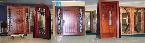 dp doors showroom