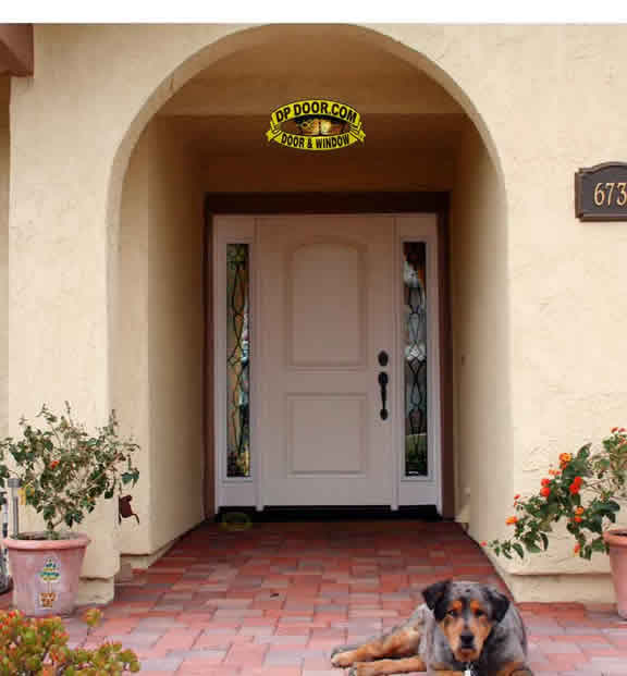 fiberglass entry door side lites