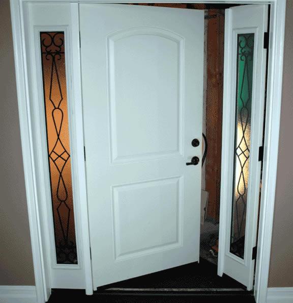 Front entry doors french doors patio doors milgard for Entry door with window that opens