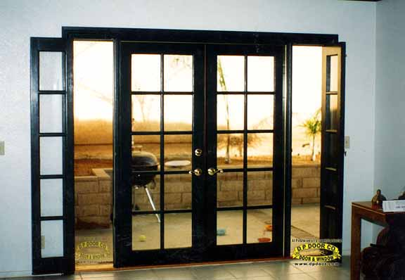 French sliding doors patio wood sliding french door memes for French doors with side windows that open