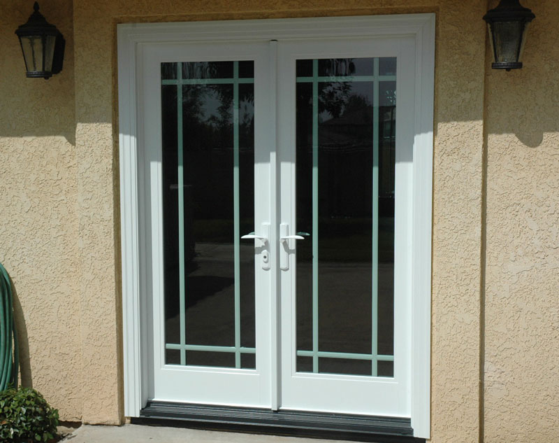 Front entry doors french doors patio doors milgard sliding for French doors front entrance