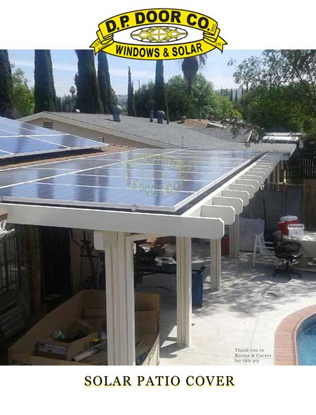 ... Patio Cover With Solar